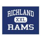 Richland - Rams - High - Johnstown Pennsylvania Postcard