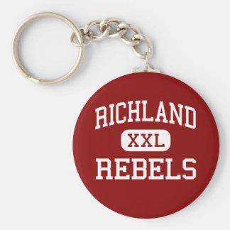 Richland - Rebels - High School - Essex Missouri Key Ring