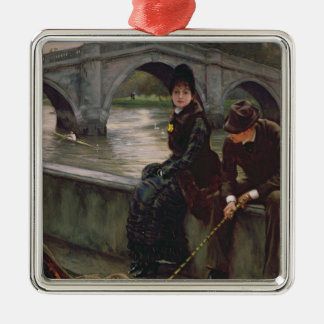 Richmond Bridge, c.1878 Christmas Ornament