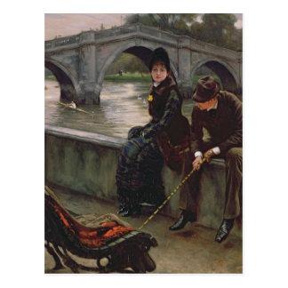 Richmond Bridge, c.1878 Postcard