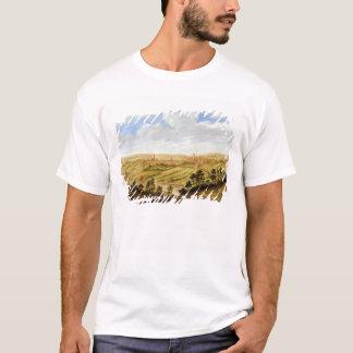 Richmond Castle, Yorkshire, c.1640-41 (oil on pane T-Shirt