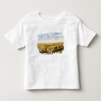 Richmond Castle, Yorkshire, c.1640-41 (oil on pane Toddler T-Shirt