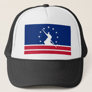 Richmond city flag united state america Virginia Trucker Hat