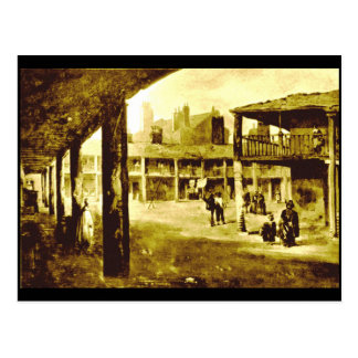 Richmond Fair / The Richmond Woollen Hall, 1857 Postcard