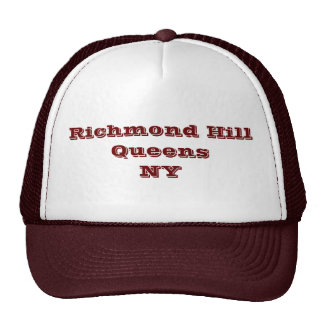 Richmond Hill, Queens, NY Trucker Hat. Cap