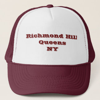 Richmond Hill, Queens, NY Trucker Hat. Trucker Hat