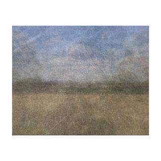 Richmond park London merged photograph Stretched Canvas Print