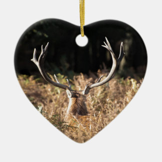 Richmond Park stag, London Christmas Ornament