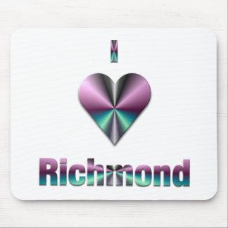 Richmond -- Purple & Turquoise Mousepad