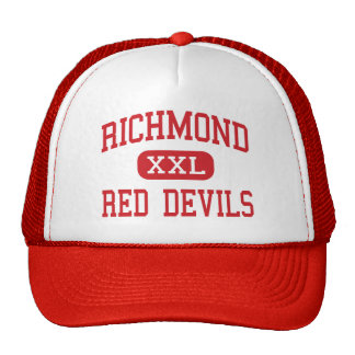 Richmond - Red Devils - High - Richmond Indiana Cap