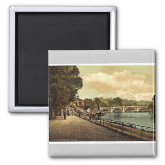 Richmond, the bridge, London and suburbs, England Magnet