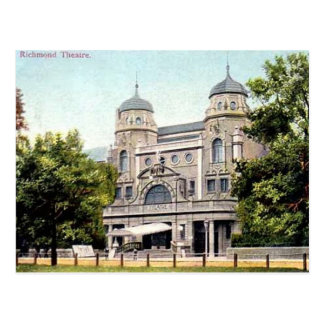 Richmond Theatre 1905 Postcard