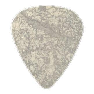 Richmond, Virginia Acetal Guitar Pick