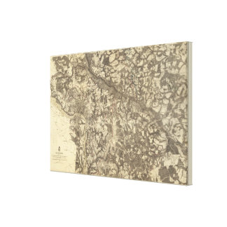 Richmond, Virginia Canvas Print