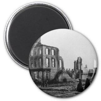Richmond, Virginia ~ Civil War Era 1865 6 Cm Round Magnet