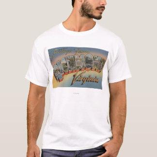 Richmond, Virginia - Large Letter Scenes 2 T-Shirt