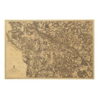 Richmond, Virginia Wood Print