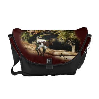 Richshaw  Bag- Pinzgauer Calf - personalize Messenger Bags