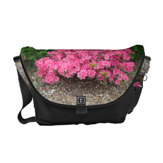 Richshaw Bag with Azaleas - customize if desired Messenger Bags