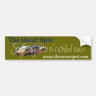 Ri'cichlid'ous! Car Bumper Sticker