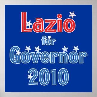 Rick Lazio for Governor 2010 Star Design Posters