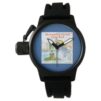 Rick London Funny Trump Shark Watch