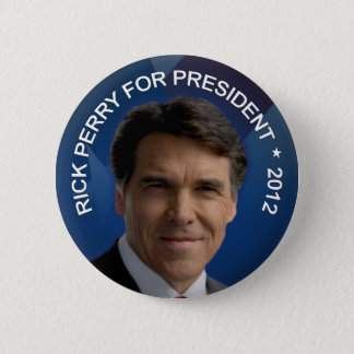 Rick Perry 2012 6 Cm Round Badge