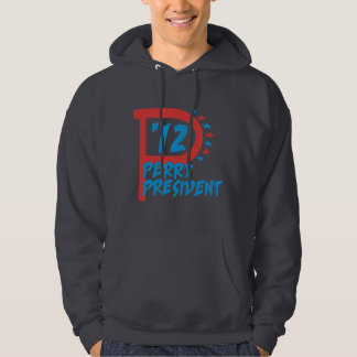 Rick Perry 2012 for President Hooded Sweatshirts