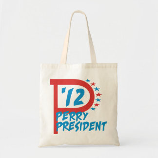 Rick Perry 2012 for President Tote Bag