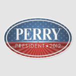 Rick Perry 2012 Oval Sticker