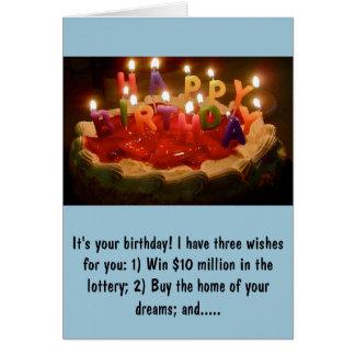 Rick Perry Birthday Card