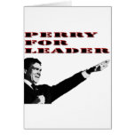Rick Perry for leader Card