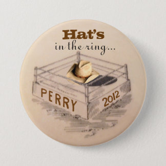 Rick Perry for President 7.5 Cm Round Badge