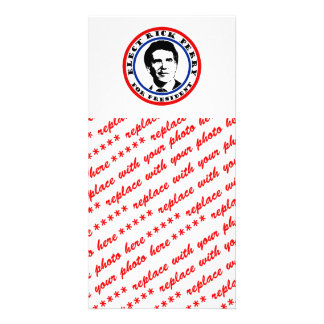 Rick Perry for President Picture Card