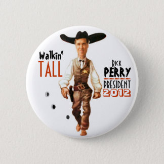 Rick Perry President 2012 6 Cm Round Badge