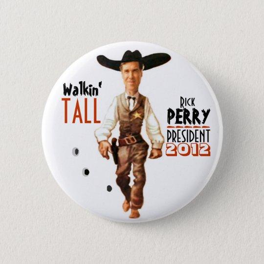 Rick Perry President 2012 6 Cm Round Badge