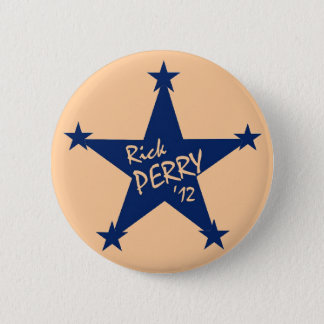Rick Perry Stars 6 Cm Round Badge