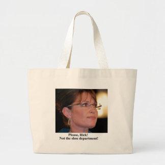Rick Perry worries Sarah Palin Tote Bag