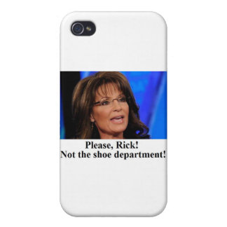 Rick Perry worries Sarah Palin (sm img) Case For iPhone 4