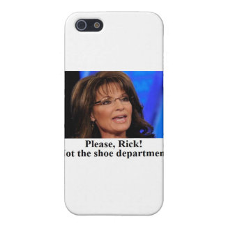 Rick Perry worries Sarah Palin (sm img) Case For iPhone 5