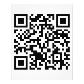 Rick Roll QR Code Rickrolled 11.5 Cm X 14 Cm Flyer