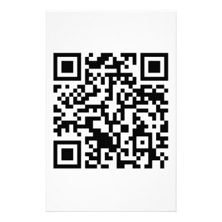 Rick Roll QR Code Rickrolled Personalised Stationery