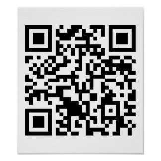 Rick Roll QR Code Rickrolled Poster