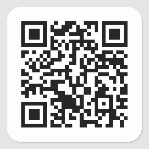 Rick Roll QR Code Rickrolled Stickers