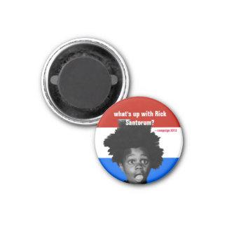 Rick Santorum Black People Speech, campaign 2012 3 Cm Round Magnet