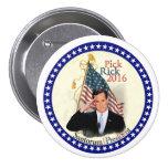Rick Santorum for President 2016 7.5 Cm Round Badge