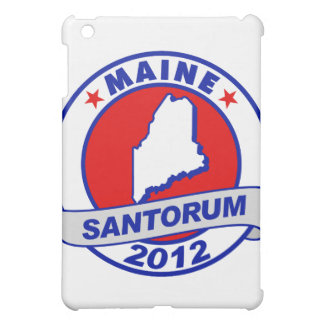 Rick Santorum Maine iPad Mini Case