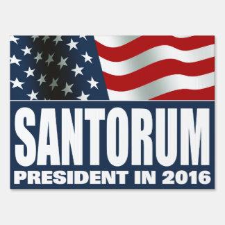 Rick Santorum President in 2016