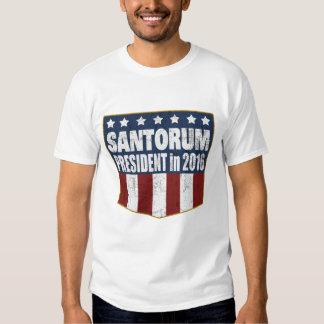 Rick Santorum President in 2016 Shirt