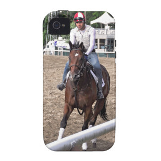Rick Violette Morning Workouts at Saratoga iPhone 4 Cover